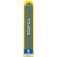 すみつけ替芯(2.0mm) 硬質青 6本入り S20S-BLU 1セット(20個) TJMデザイン (直送品)