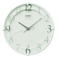 SEIKO(セイコークロック) 電波 掛け 時計 KX215W 1個 (直送品)