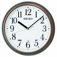 SEIKO(セイコークロック) 電波 掛け 時計 KX218B 1個 (直送品)