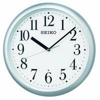 SEIKO(セイコークロック) 電波 掛け 時計 KX218S 1個 (直送品)