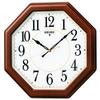 SEIKO(セイコークロック) 電波 掛け 時計 KX389B 1個 (直送品)