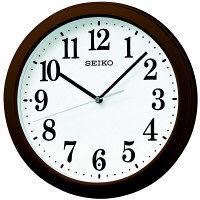 SEIKO(セイコークロック) 電波 掛け 時計 KX379B 1個 (直送品)