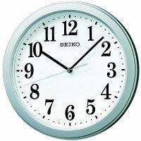 SEIKO(セイコークロック) 電波 掛け 時計 KX379S 1個 (直送品)