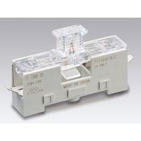 サトーパーツ ヒューズホルダー 横型ヒューズホルダー(連結式)カバー付 Fー700ーBL F-700-BL 1セット(10個) (直送品)(直送品)