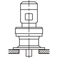住友重機械工業 減速機 サイクロ減速機 6000シリーズ 三相モータ直結形(立形・取付台付・屋外) CVVM3-6185DA-EP-231/A (直送品)