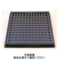 福西鋳物 段差プレート・グレーチング 鋳鉄製格子蓋 HBG-500 1個(直送品)