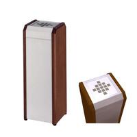 ミヅシマ工業 吸殻収集缶 クリンスモーキング WS1 360-0050 1セット(2台)(直送品)