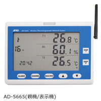 ZigBeeワイヤレス温湿度計測システム 親機(表示機) AD-5665 エー・アンド・デイ (直送品)