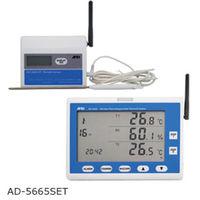 ZigBeeワイヤレス温湿度計測システム セット AD-5665SET エー・アンド・デイ (直送品)