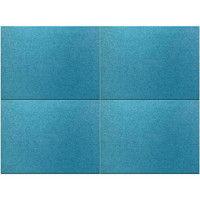 ドリックス FelmenonEXceed(フェルメノンエクシード) 布貼り吸音パネル 800×600mm ブルー 4枚セット SK4-EX-8060C-BL