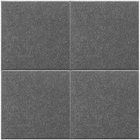 ドリックス Felmenon(フェルメノン) 吸音パネル 400×400mm ダークグレー 4枚セット SK4-FB-4040C-DGY