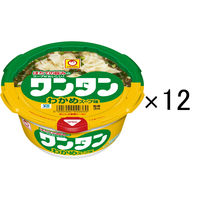 東洋水産 ワンタン わかめスープ味 12個