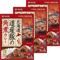 北海道道産豚の角煮カレー 中辛 箱200g