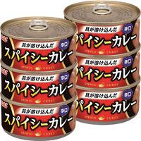 いなば食品 スパイシーカレー 辛口 3缶セット×2個