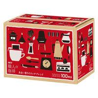 【ドリップコーヒー】UCC上島珈琲 職人の珈琲ドリップコーヒー あまい香りのモカブレンド 1箱(100袋入)