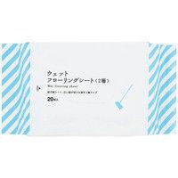伊藤忠 ウエットフローリングワイパーシート2層 2パック 20枚×2