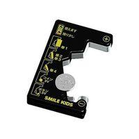 コイン電池が測れる電池チェッカー 電池不要タイプ 測定可能電池:単1〜4形乾電池・ボタン電池 ADC-10 旭電機化成(直送品)