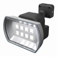ムサシ フリーアーム式LEDセンサーライト 防雨型 乾電池式タイプ 天井取付可 4.5Wワイド 400lm 白熱球60W相当 CBA-150(直送品)
