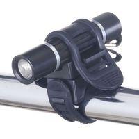 自転車用LEDライト(アルミ製) 日亜製白色LED×1灯 LB103BK ヤザワコーポレーション (直送品)