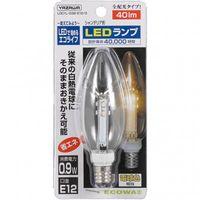 C32形LEDランプ電球色E12クリア LDC1LG32E123 ヤザワコーポレーション (直送品)