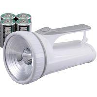 オーム電機 3WLED強力ライト LED-P03W-P(直送品)