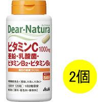 ディアナチュラ(Dear-Natura) ビタミンC・亜鉛・乳酸菌・VB2・VB6 1セット(60日分×2個) アサヒグループ食品 サプリメント