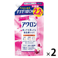 アクロン フローラルブーケの香り 詰替え大サイズ 900ml 1セット(2個入) 衣料用洗剤 ライオン