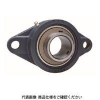 日本ピローブロック(FYH) ベアリングユニットひしフランジ形UCFL(円筒穴・カバー付き)UCFL202CE4 UCFL202CE4(直送品)