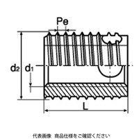 KKV エンザート 真鍮 309-0040-80 1セット(10個)(直送品)