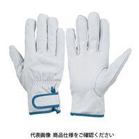 シモン(Simon) 牛本革手袋 CG-717 L 4130700 1セット(10双)(直送品)
