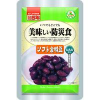 アルファフーズ UAA食品 美味しい防災食 ソフト金時豆 T263 1セット(50食入)(直送品)
