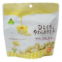東京ファインフーズ ひとくちやわらかラスク ホワイトチョコ T472 1セット(32食入)(直送品)