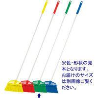 高砂 HPイタリアンほうき ハード 短柄 緑 54239 1セット(5本)(取寄品)