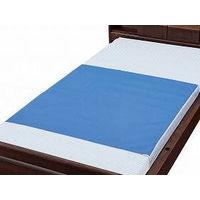 ウェルファン デニム防水シーツ(大判タイプ) ブルー 110×170cm 009451(直送品)