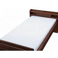 ウェルファン BOX型シーツ 白 85×195cm 009553(直送品)