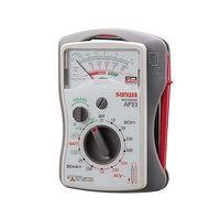 三和電気計器 アナログマルチテスタ 薄型 AP33 校正書類3点(新品校正) 1式 62-0854-38 (直送品)