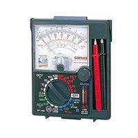 三和電気計器 アナログマルチテスタ 耐衝撃メーター SP-18D 校正書類3点(新品校正) 1式 62-0854-48 (直送品)