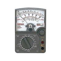 三和電気計器 アナログマルチテスタ 耐衝撃メーター SP20 校正書類3点(新品校正) 1式 62-0855-06 (直送品)