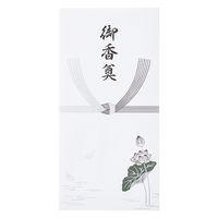 モーノクラフト 仏万円型封筒 御香奠 蓮入 SMC-418 10枚入×5(直送品)