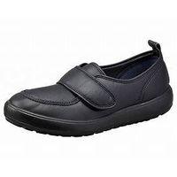 ムーンスター MS大人の上履き04 ブラック 24 ウェルファンカタログ ウェルファンコード:221135(直送品)