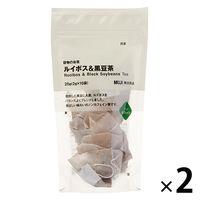 無印良品 穀物のお茶 ルイボス&黒豆茶 2袋 02854140 良品計画