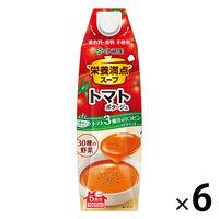伊藤園 栄養満点スープ 濃厚トマトポタージュ 1L 1箱(6本)