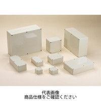 タカチ電機工業(TAKACHI) GA型防水・防塵ABSボックス ホワイトアイボリー GA16-24-9 1セット(2台) (直送品)