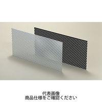 タカチ電機工業(TAKACHI) PA型アルミパンチング板 ブラック/アルマイト PA-B13 1セット(2枚) (直送品)