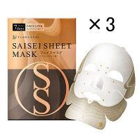フローフシ SAISEIシート マスク (フェイスライン用) 7days 2sheets 3個