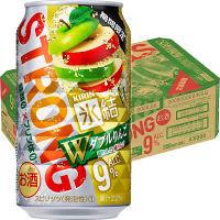 キリンビール 氷結ストロング ダブルりんご 350ml X 24缶