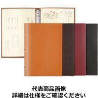 シンビ メニューブック スリムB-KM 黒 PAA0202 (取寄品)
