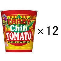 日清食品 カップヌードル クレイジーチリチリ♪チリトマト ビッグ 12個