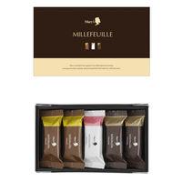 メリーチョコレート ミルフィーユ(5個入)詰め合わせ 伊勢丹の紙袋付き 手土産ギフト