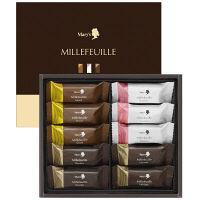 メリーチョコレート ミルフィーユ(10個入)詰め合わせ 伊勢丹の紙袋付き 手土産ギフト